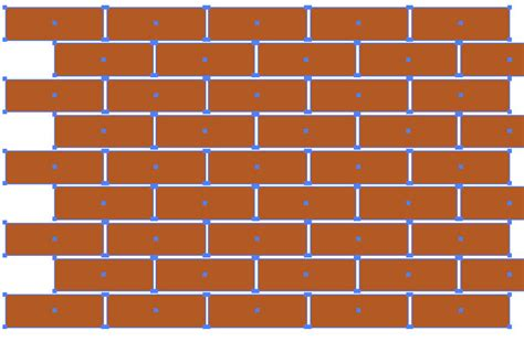 brick pattern swatch illustrator how to create a brick seamless background in illustrator