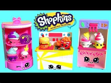 Shopkins Food Fair Fast Food Collection 1 24 shopkins food fair collection 3 packs play doh cupcake