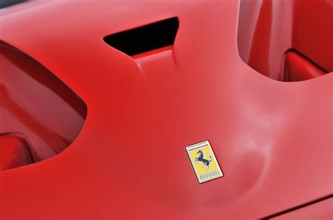 ferrari hood emblem mazdaspeed forums report ferrari finalizes design for