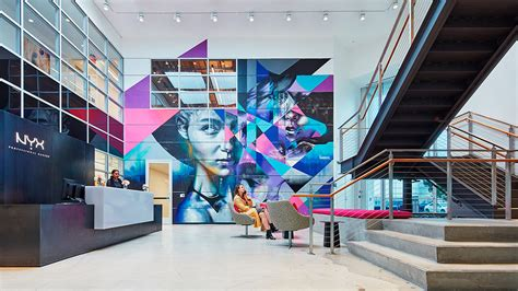 Home Furnishing Stores nyx cosmetics headquarters projects gensler