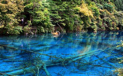 clearest lake in china facts the five flower lake in china the most unique lakes in the world