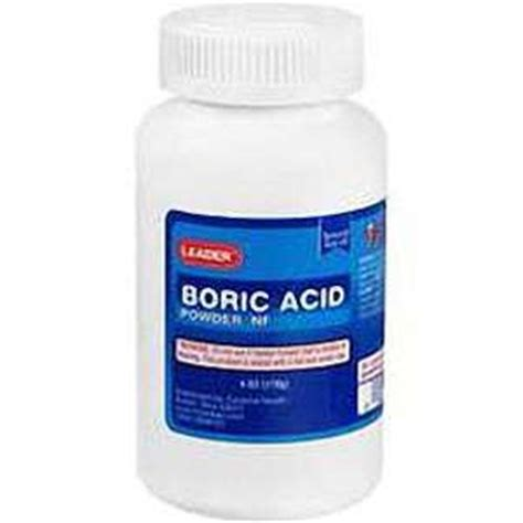 leader boric acid powder 6oz