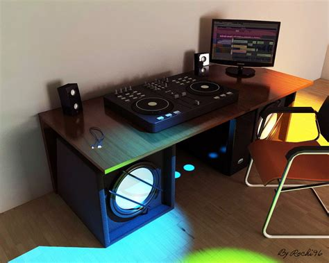dj console dj console rochi96 gallery c4dzone