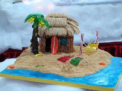 gingerbread beach house beach themed christmas trees beach themed gingerbread