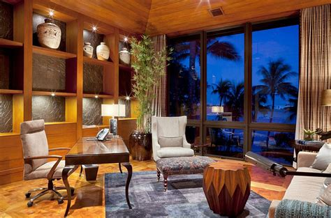 designing and decorating home office in smart way ideas 10 ways to go tropical for a relaxing and trendy home office