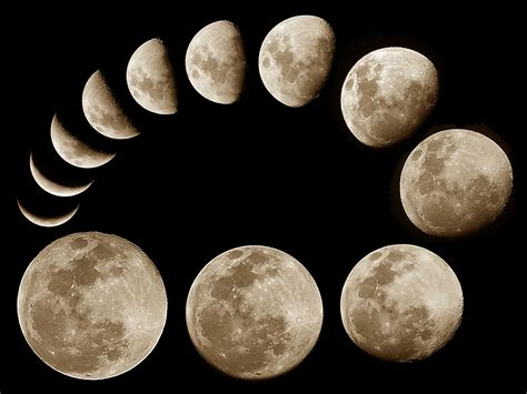 moon phase wallpapers moon phases