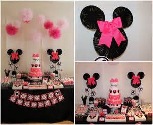 Cheetah Diaper Bag Minnie Mouse Birthday Party Supplies In A Box For 16