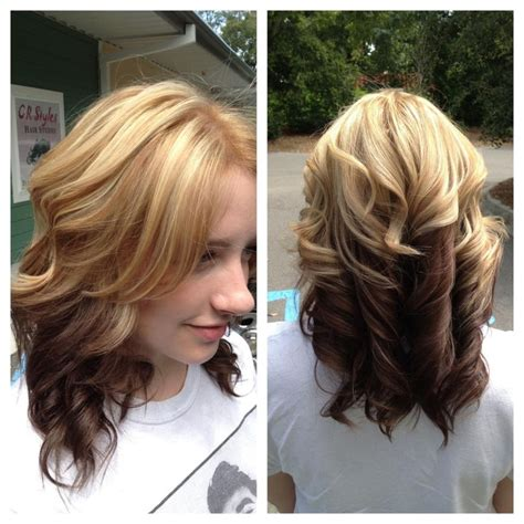 short hairstyles reverse ombre reverse ombre hairdos pinterest