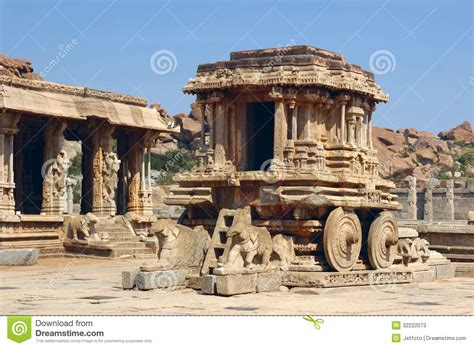 Interior Design Blogs India by Stone Chariot In Vittala Temple Hampi India Stock Photos