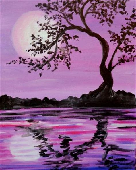 paint nite zen 25 best ideas about silhouette painting on