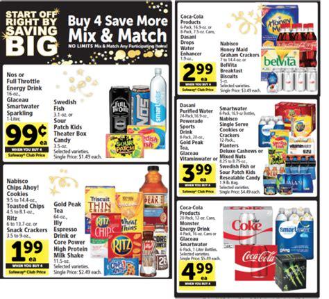 Safeway Gift Card Buy Back List - coke 6 8 packs just 1 99 with new coke coupon and sale at safeway super safeway