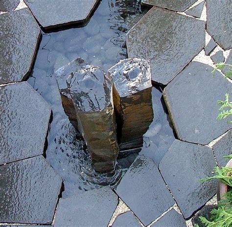Hardscape Hexagon Basalt Pavers Cascade Stoneworks Rock Creek Gardens Silver