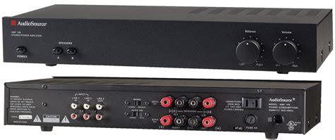 amazoncom audiosource amp  stereo power amplifier