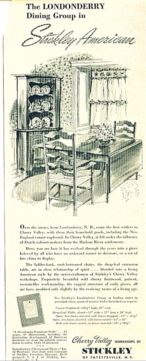 American Furniture Ad by Antique Furniture Tias Page 6
