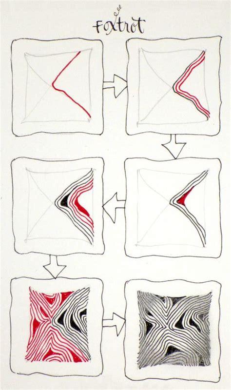 Zentangle Pattern Diva Dance | 62 best zentangle patterns images on pinterest zentangle