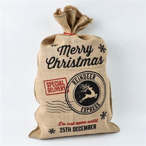 1000 ideas about diy christmas sacks on pinterest