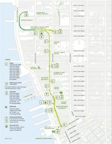 Highline New York Map by Go For A Walk And Discover The High Line In New York