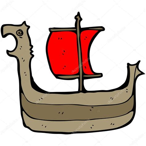 cartoon viking boat images viking ship cartoon stock vector 169 lineartestpilot 14930827