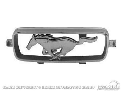 mustang grill corral c7zz 8213 a restoration quality mustang parts mustang spare parts 66 gt grille corral