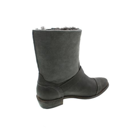 koolaburra 5563 womens duarte leather suede buckle