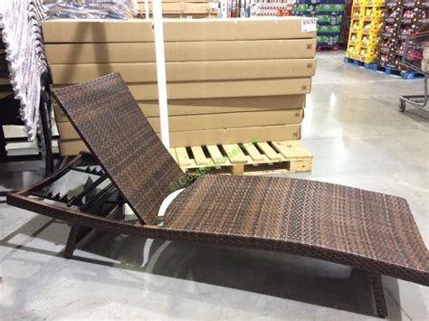 costco resin wicker lounge chairs wicker lounge chairs costco chaise lounge chair lovely