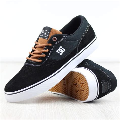 Dc Shoes Black dc shoes switch s black brown