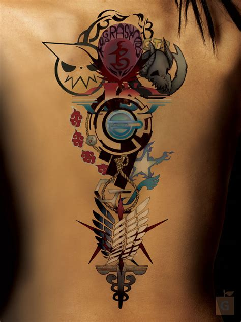 anime tattoo by gs alpha comm by proto jekt on deviantart