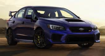 Wrx Sti Subaru 2018 Subaru Wrx Wrx Sti Debut With Styling Revisions