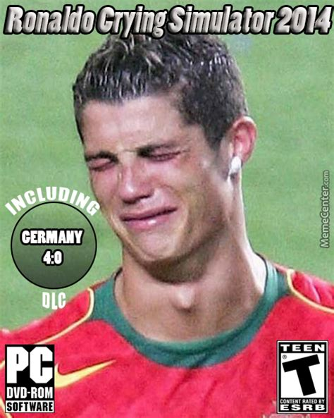 Ronaldo Crying Meme - ronaldo crying simulator by hancok54 meme center