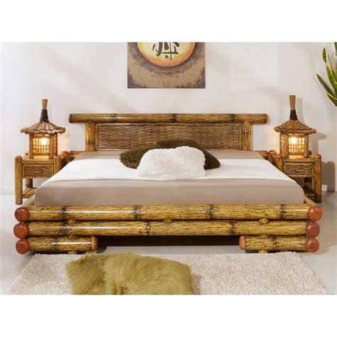 schlafzimmer bett 180x200 bamboo bed tioman 160x200 bambuskeskus o 220