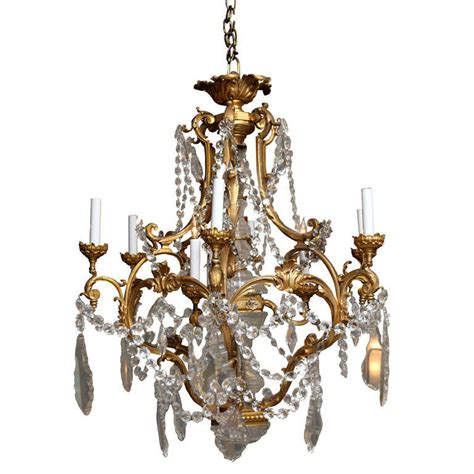 Louis Xv Chandelier A Gilt Bronze Louis Xv Style Cage Form Chandelier At 1stdibs