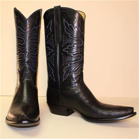 Best Handmade Cowboy Boots - lugus mercury handmade boots custom cowboy boots black