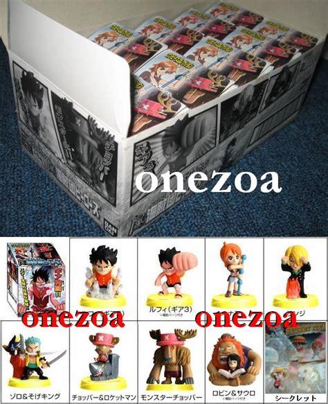 Fc Chibi Set Crew Mugiwara Luffy Figure One Pop Fzo bandai one figure collection fc 7 pirate crew heroes