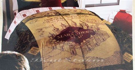 marauders map bedding new harry potter deathly hallows marauders map full queen