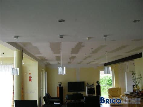 spot plafond salon plafond et mur tendu faux plafond