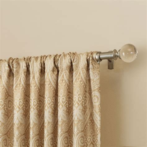 Decorative Rods For Curtains Best Types Of Curtain Rods Homesfeed