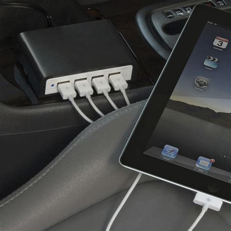 Usb Port In Car by Charge 4 Usb Devices At Once In Your Car Craziest Gadgets