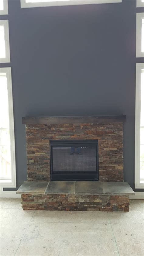 Install Fireplace Surround by Novus Gas Fireplace With Box Mantel Badgerland Fireplace