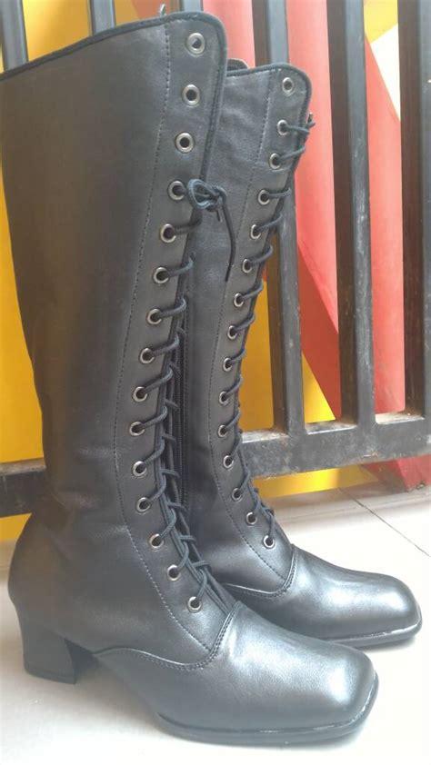 Sepatu Boot Wanita Grosir jual sepatu boot jenggel touring wanita nabato grosir nabato grosir shoes
