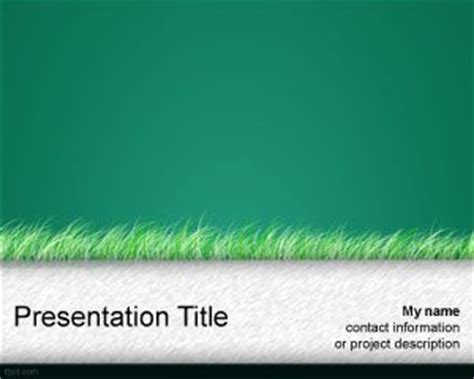 grass powerpoint template green grass powerpoint template free