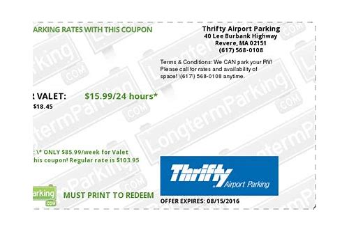 thrifty coupons and discounts