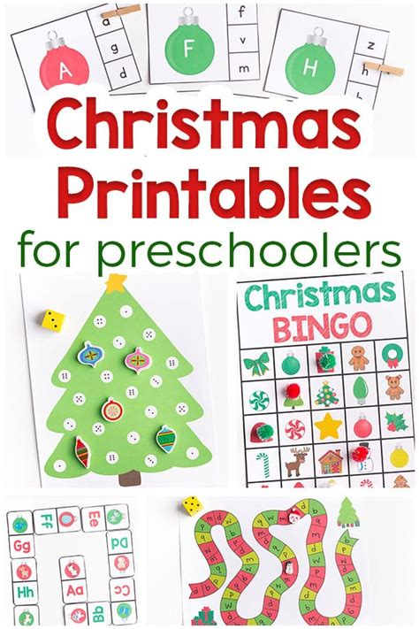 printable christmas games for preschoolers decorate a gingerbread man art activity for kids