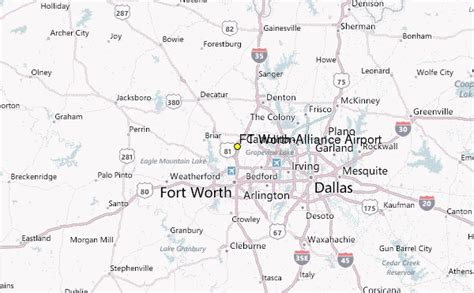 alliance texas map ft worth alliance airport weather station record historical weather for ft worth alliance