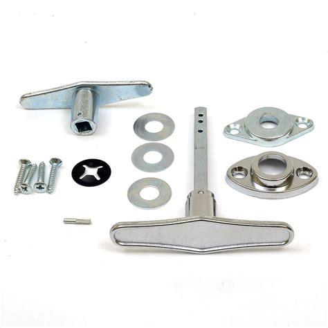 Garage Doors Replacement Parts Garage Door Lock T Handle Assembly No Rp 9 95 Sp 6 41 Diy Garage Door