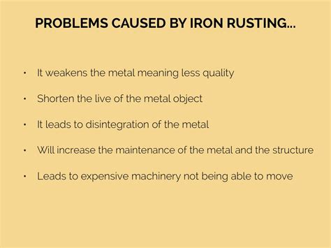Rust By Bethany Bibby Equation For Rusting Of Iron Tessshebaylo