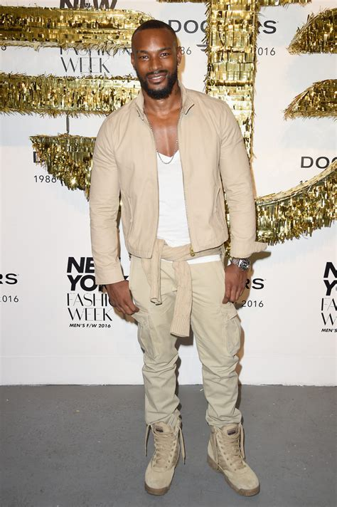 Tyson Beckford At Fashion Week 2008 by Tyson Beckford In Dockers X Cfda Nyfwm Opening New