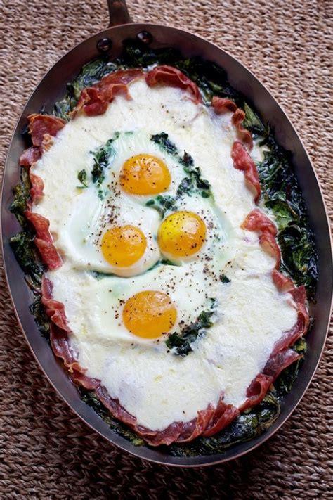 baked eggs for dinner uova al forno recipe cakes pinterest for women dishes for dinner