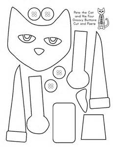 cut and color pete the cat printables coloring home