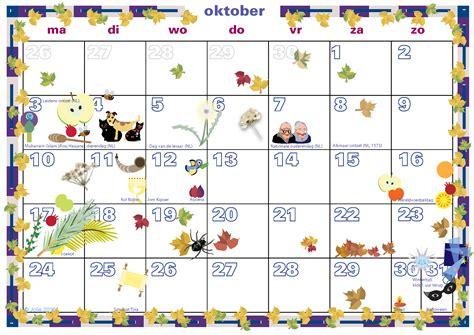Oktober Kalender 2016 S Weblog