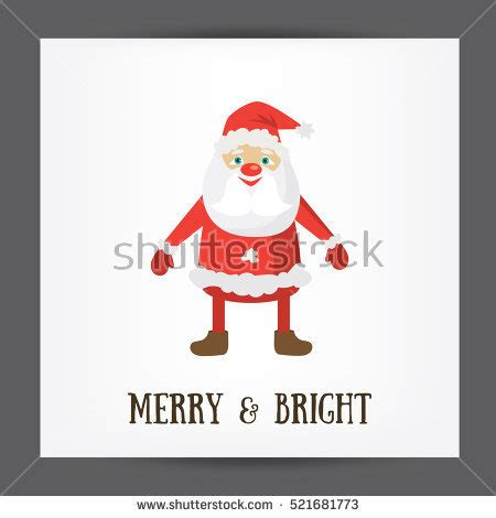 Merry And Bright Card Template by Stock Images Royalty Free Images Vectors